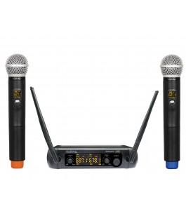 Doppio radiomicrofono UHF...