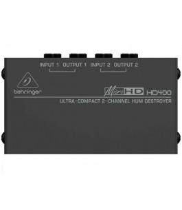 BEHRINGER HD400 MICRO-HUM...
