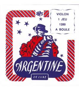ARGENTINE 1280 Set 4 corde...