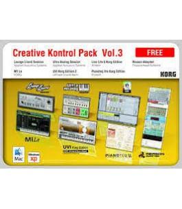 KORG CREATIVE CONTROL PACK...
