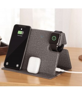 Caricatore wireless 3in1 ROCK